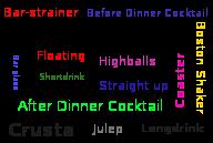 Bartender terminology