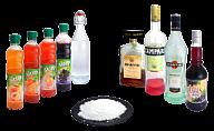 Liqueur, syrup or sugar powder