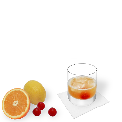 Amaretto Sour with individual decoration