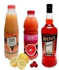 Aperol Sour ingredients