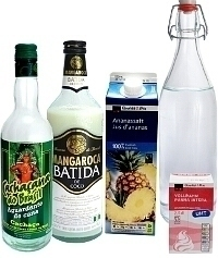 Batida de Coco ingredients: With Batida de Coco liqueur (Standard)