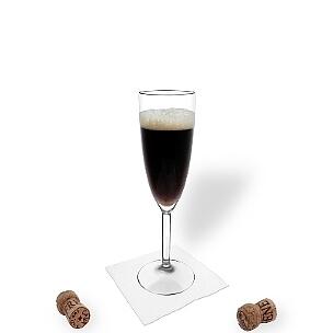 All kind of champagne glasses are ideal for Black Velvet.
