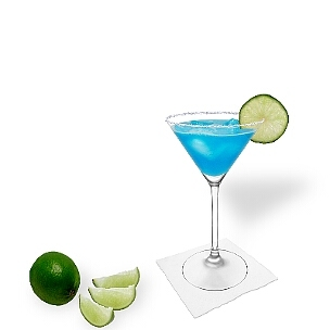 Martini glasses with their long and fine bezel are ideal for sugar or salt rims.