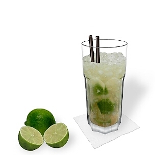 Gibraltar glasses are very resistant and therefore ideal for Caipirinha.
