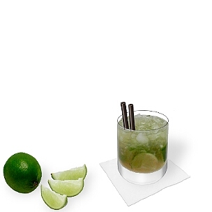 Caipirinha is one of the most popular summer cocktails worldwide.