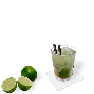 Gibraltar glasses are very resistant and therefore ideal for Caipirissima.