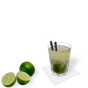 Gibraltar glasses are very resistant and therefore ideal for Caipiroska.