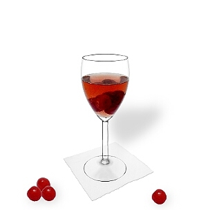 All kind of wine glasses are ideal for Cherry Punch.