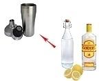 Gin SourPreparation: Shaking