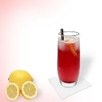 Long Beach Ice Tea in a long-drink glass.