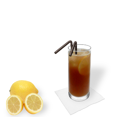 Long Island Ice Tea with individual decoration