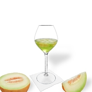 Melon Punch is a fruity and palatable party drink.
