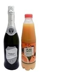 Mimosa ingredients: Ratio 2:1 (standard)
