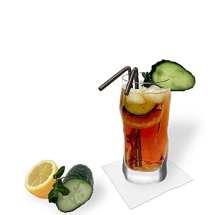All kind of long-drink glasses are ideal for Pimms No.1 Cup.