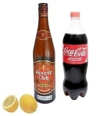 Rum and Coke ingredients