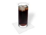 Rum and CokePreparation: Serving