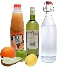 Sangria Blanca ingredients: With White Wine (Standard)
