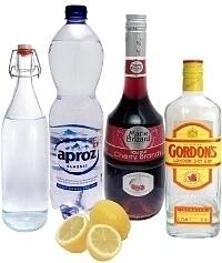 Singapore Sling ingredients