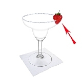 Strawberry MargaritaPreparation: Strawberry decoration