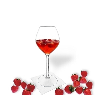 Strawberry Punch is a fruity and palatable party drink.