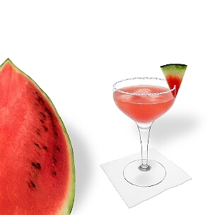 Another great option for Watermelon Margarita, a cocktail saucer.
