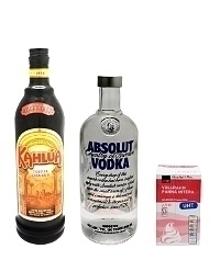 White Russian ingredients: With Cream (standard)
