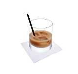 White RussianPreparation: Pour cream or milk over the top